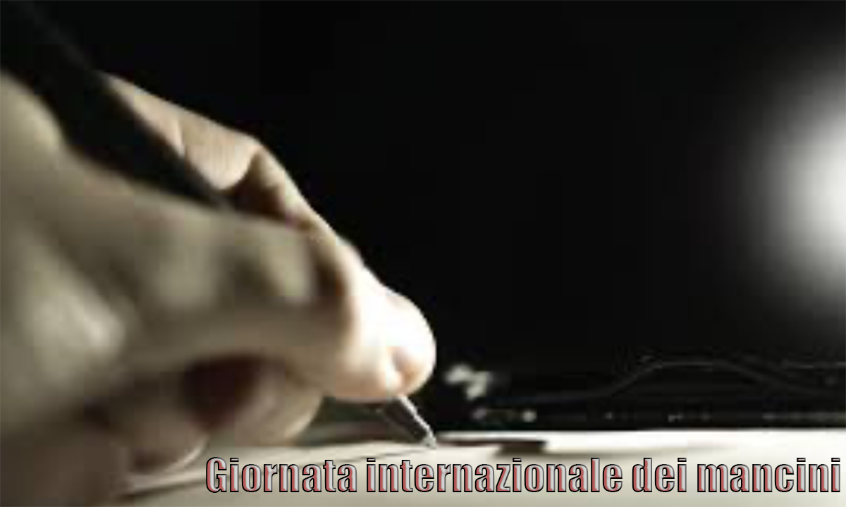 Immagine Giornata internazionale dei mancini