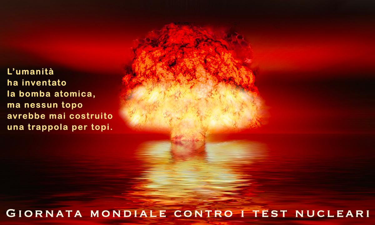 Immagini Giornata mondiale contro i test nucleari
