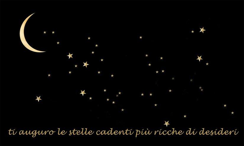 Immagini con frasi sulle stelle cadenti di buon 10 Agosto