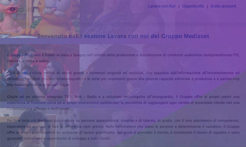 Come lavorare a Mediaset