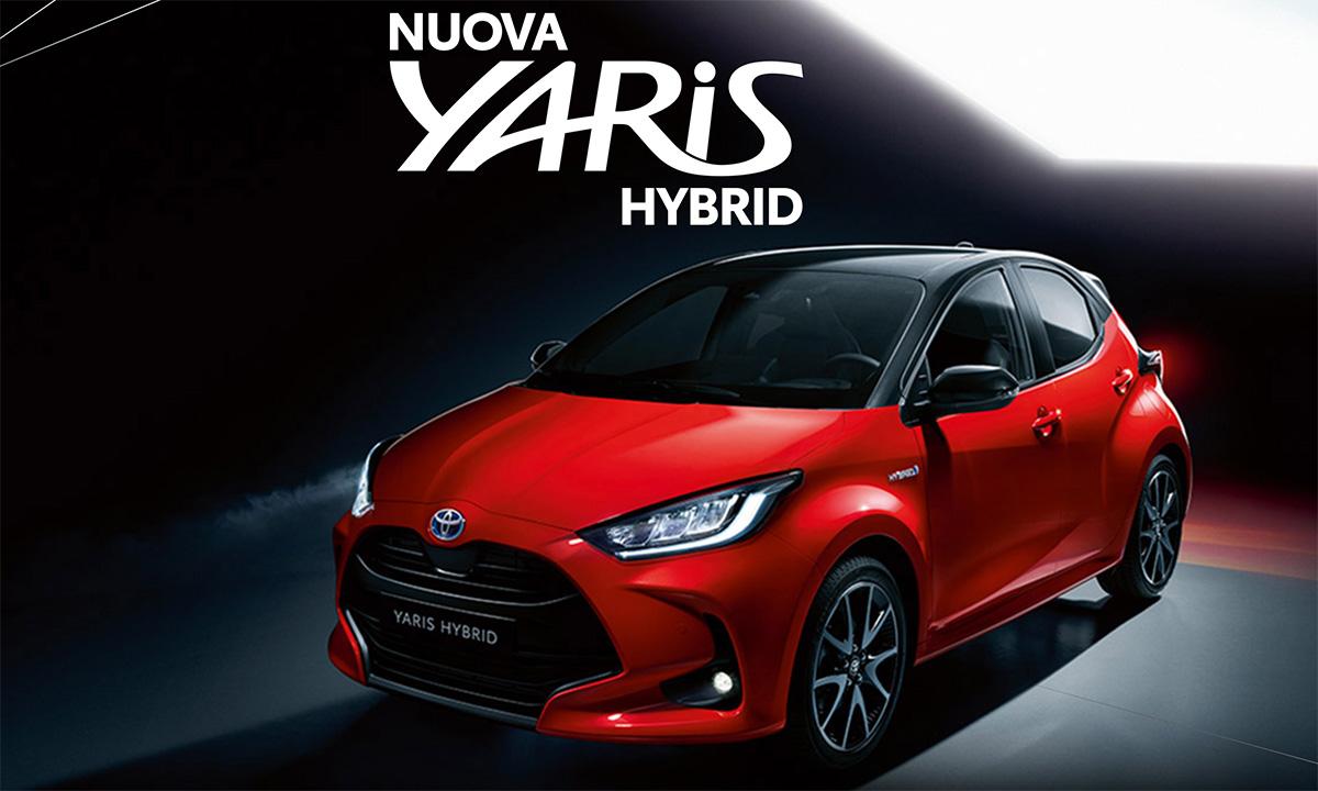 Foto Toyota Yaris ibrida 2020