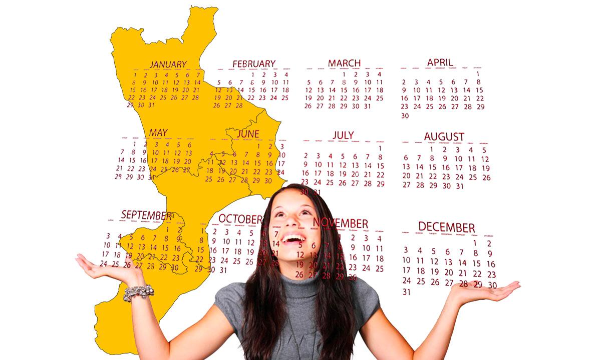 Calendario scolastico 2020 21 Calabria in PDF: vacanze e festività