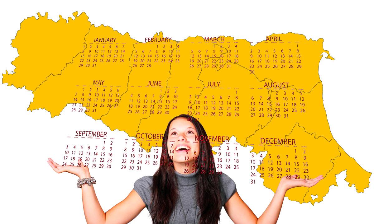 Calendario scolastico 2020 21 Emilia Romagna in PDF: vacanze e