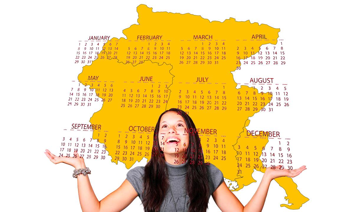 Nuovo calendario scolastico 2020-21 regione Friuli Venezia Giulia in PDF da stampare