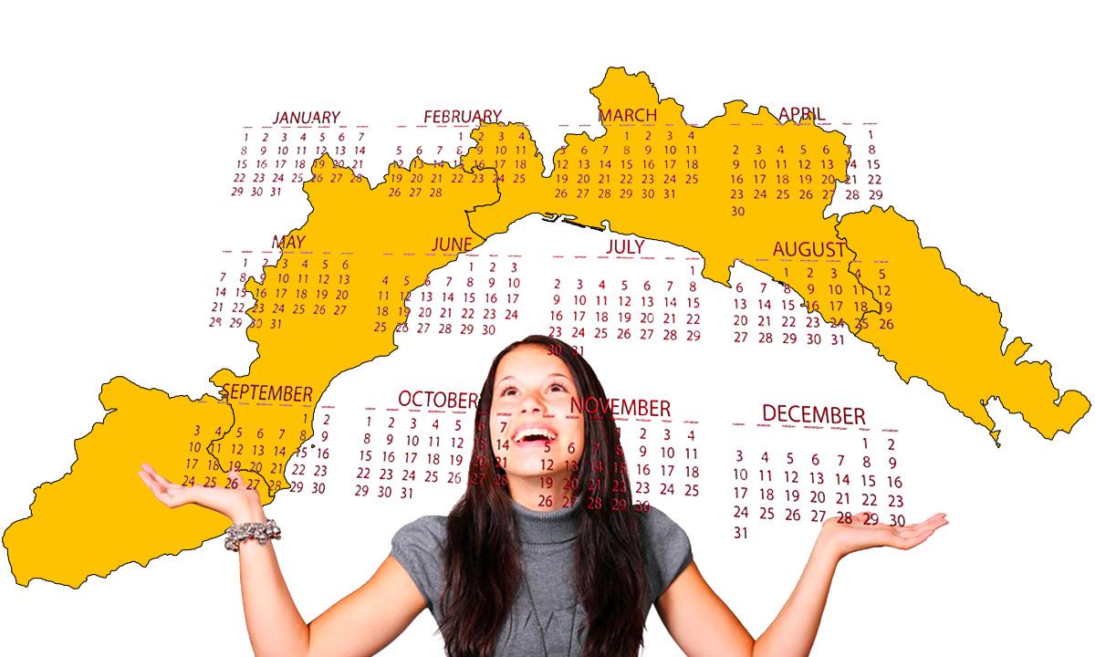 Calendario scolastico 2020 21 Liguria in PDF: vacanze e festività