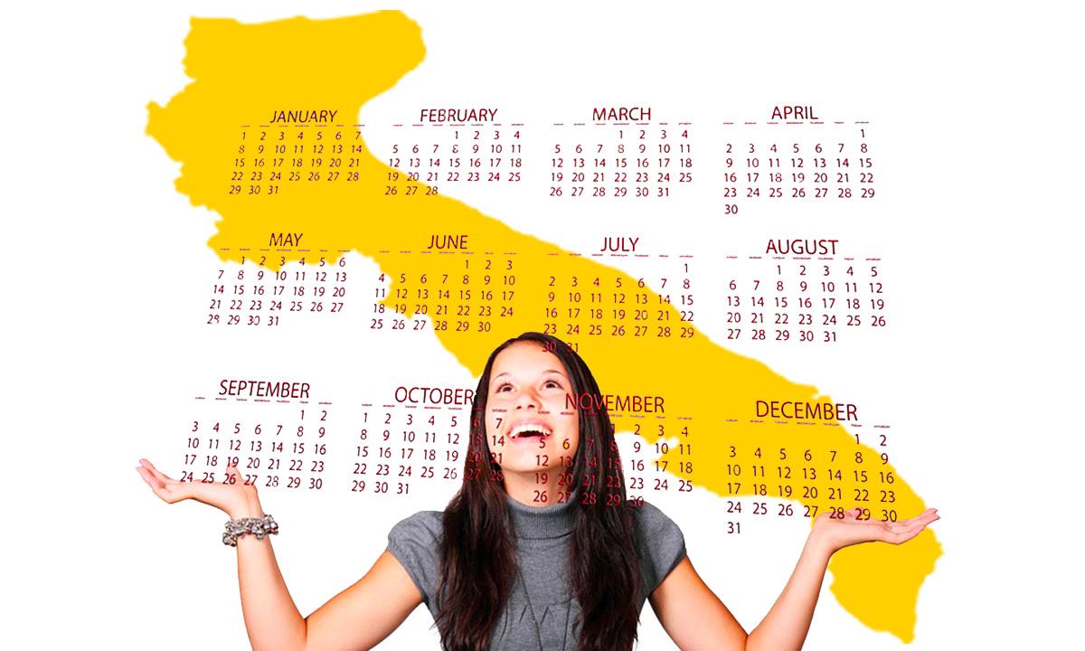 Calendario scolastico 2020 21 Puglia in PDF: vacanze e festività