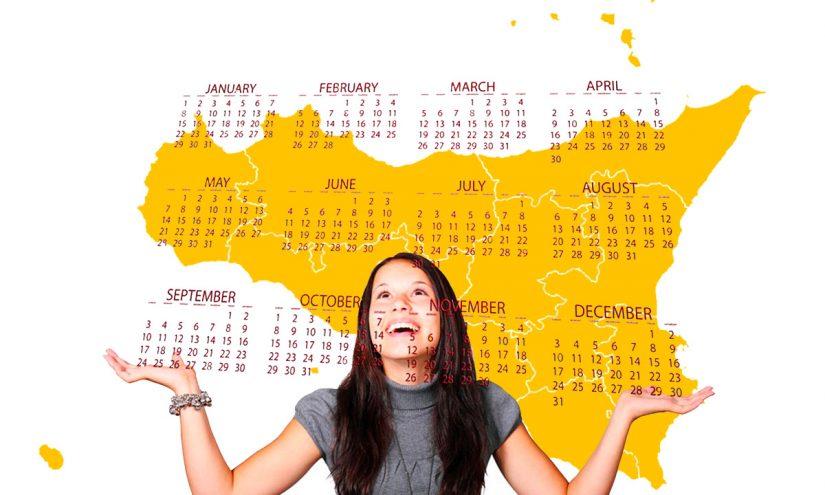 Calendario scolastico 2020-21 Sicilia in PDF