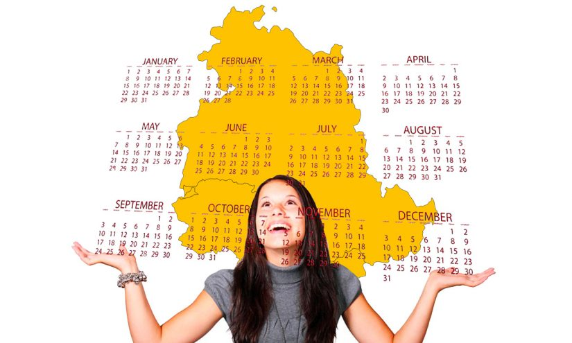 Calendario scolastico 2020-21 Umbria