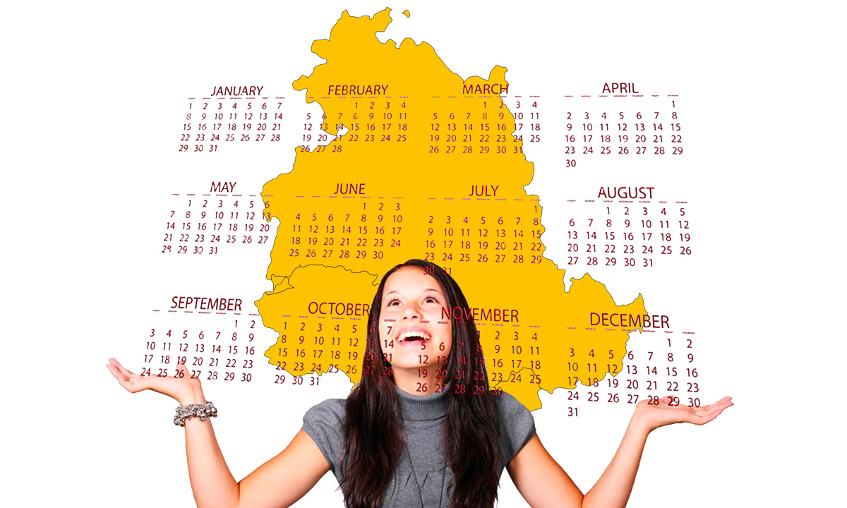 Calendario scolastico 2020 21 Umbria in PDF: vacanze e festività