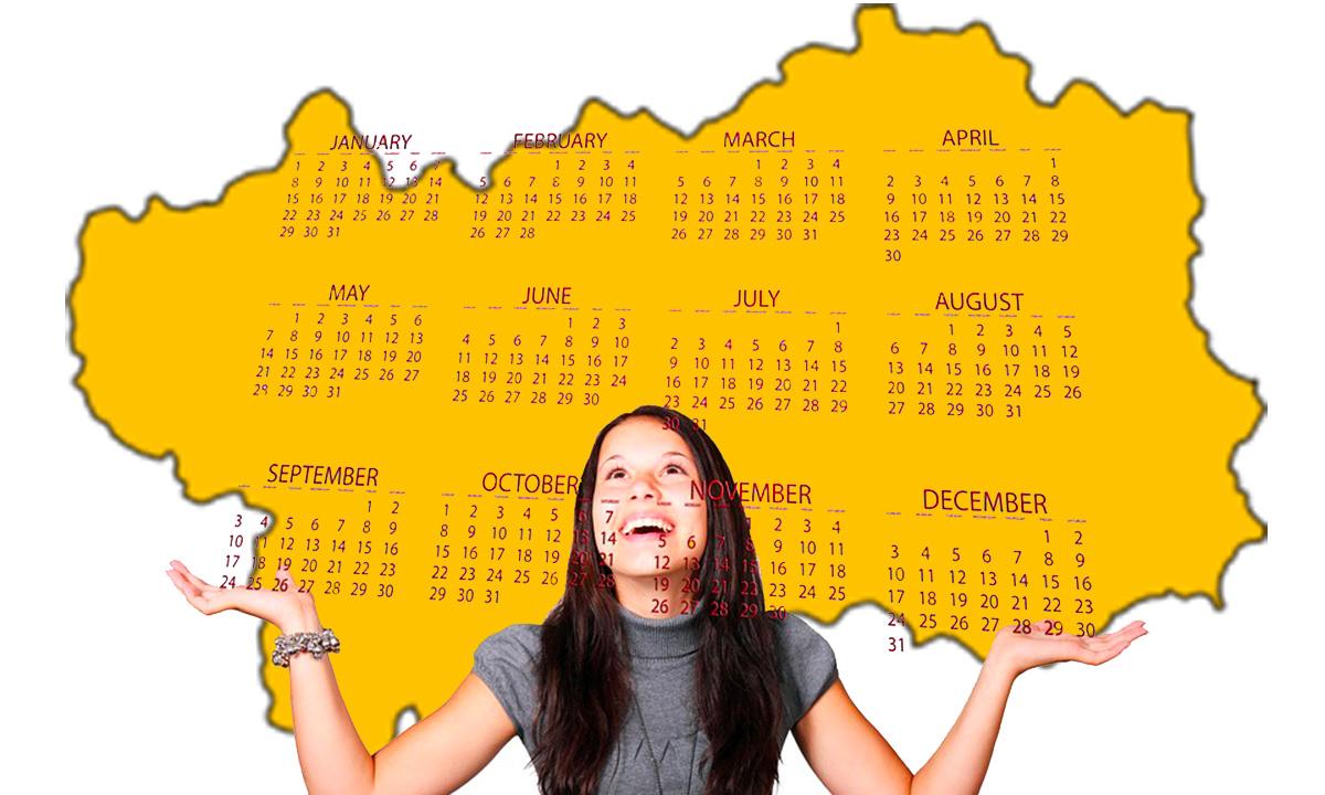 Calendario scolastico 2020 21 Valle D'Aosta in PDF: vacanze e