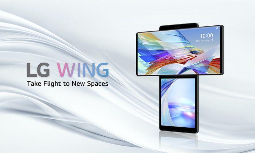 Foto LG Wing 2020