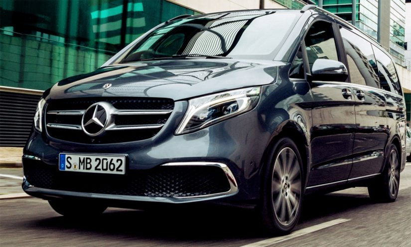 Foto Mercedes Classe V 2020