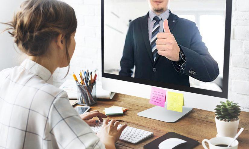 Colloquio di lavoro online e video intervista