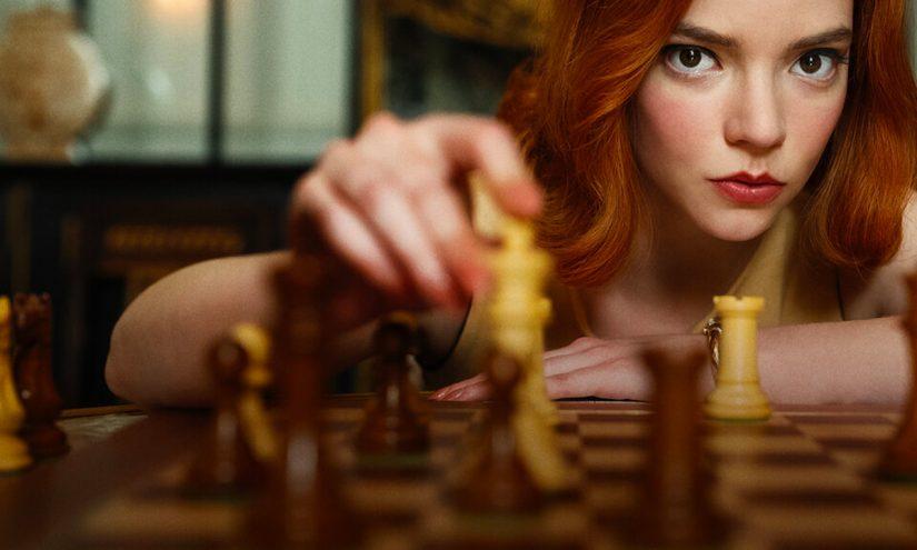 Foto La regina di scacchi