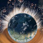Immagini con frasi di auguri di buon anno nuovo e felice Capodanno