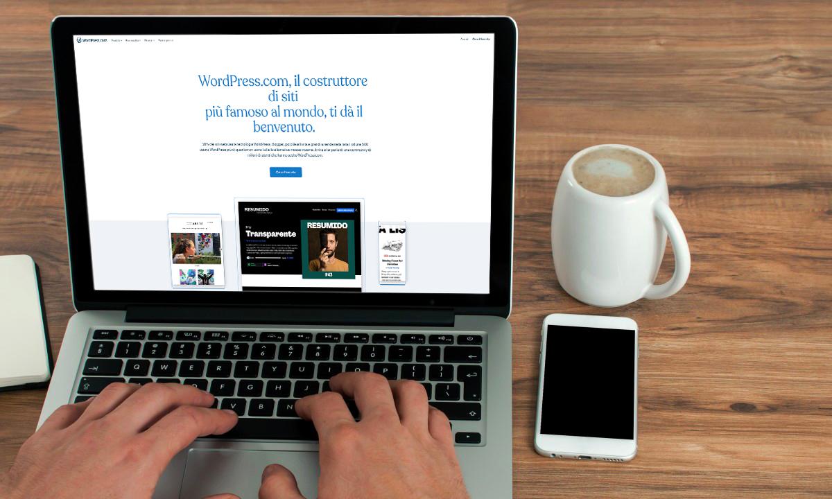 Come creare un sito web con Wordpress