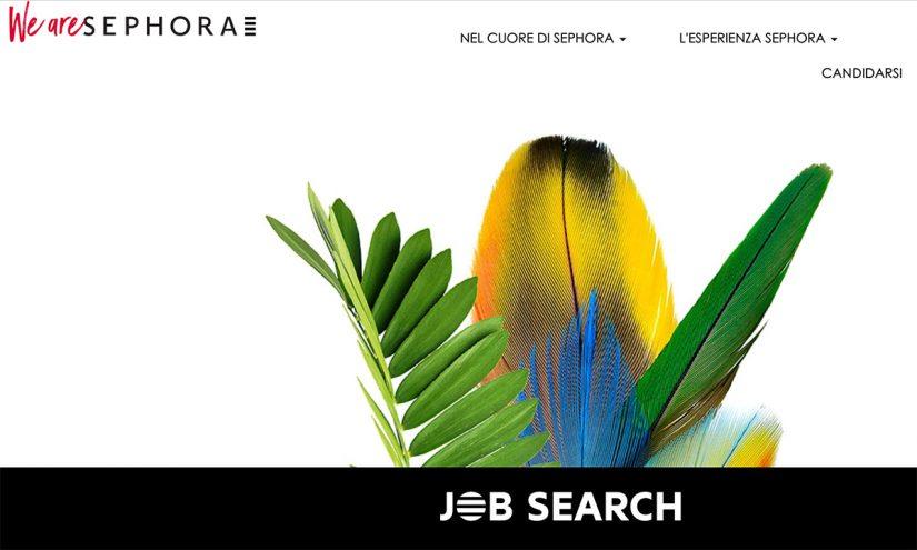 Come lavorare da Sephora