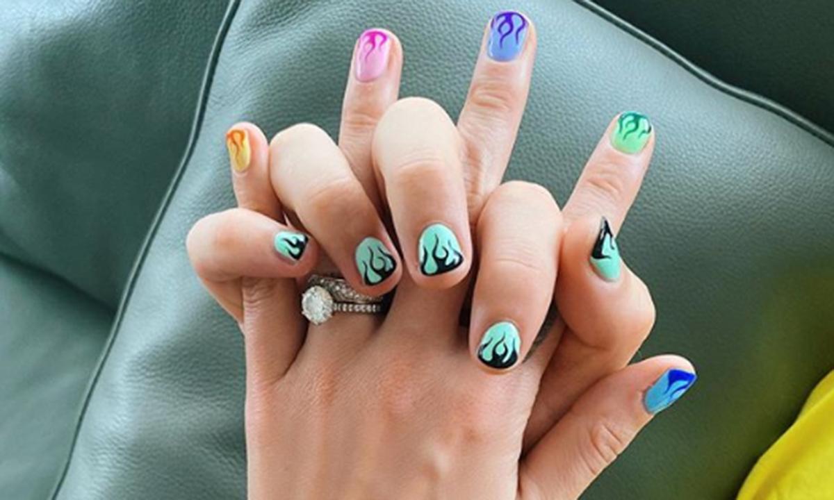 Fedez manicure di coppia