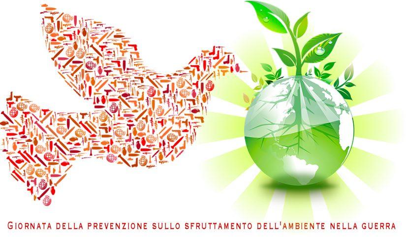 Immagine Giornata della prevenzione sullo sfruttamento dell'ambiente nella guerra