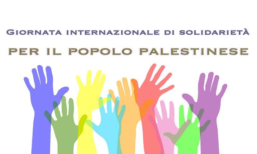 Immagini Giornata internazionale di solidarieta per il popolo palestinese
