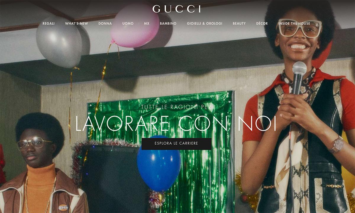 Come lavorare da Gucci