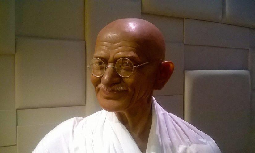 Foto per capire chi era Gandhi