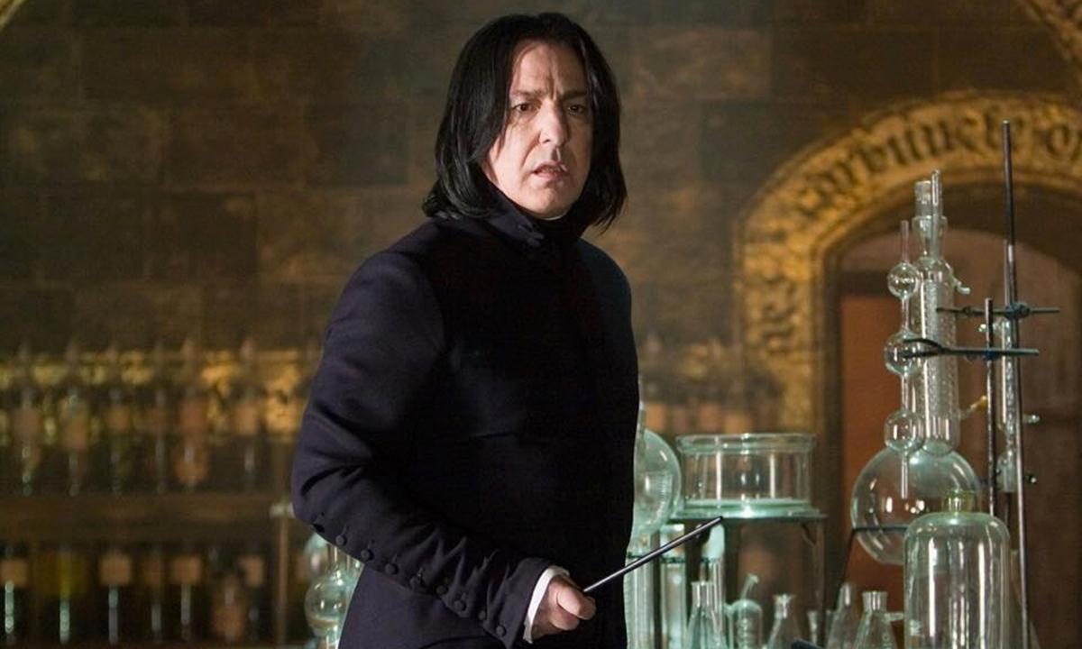 Foto per capire chi è Severus Piton il principe mezzosangue di Harry Potter