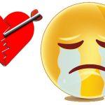 Emoticon stato facebook amore finito
