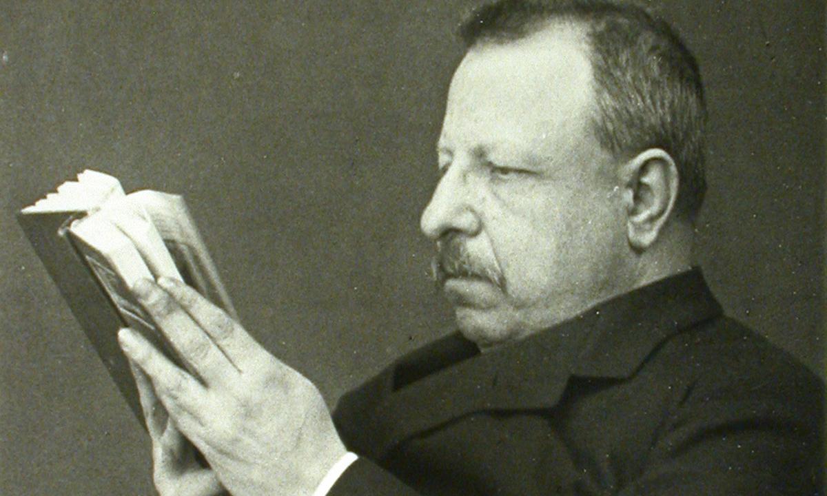 Foto per capire chi era Benedetto Croce