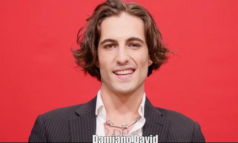 Foto per capire chi è Damiano David