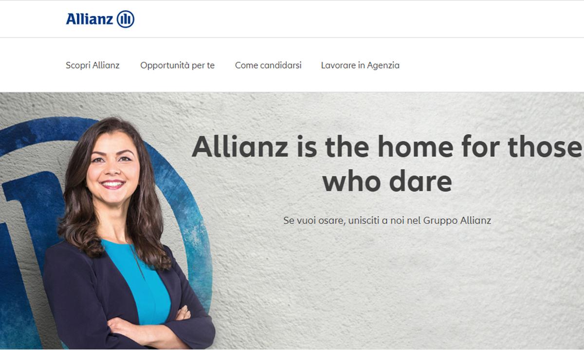 Lavorare in Allianz Assicurazioni