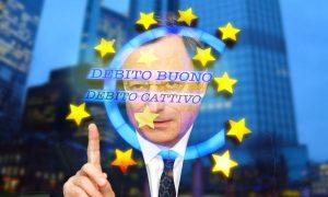 Debito buono e debito cattivo Draghi