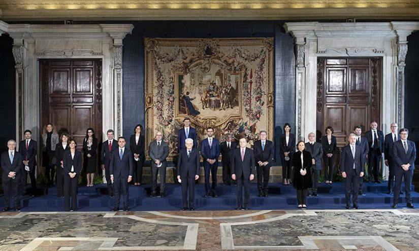 Elenco ministri con portafoglio Governo Draghi