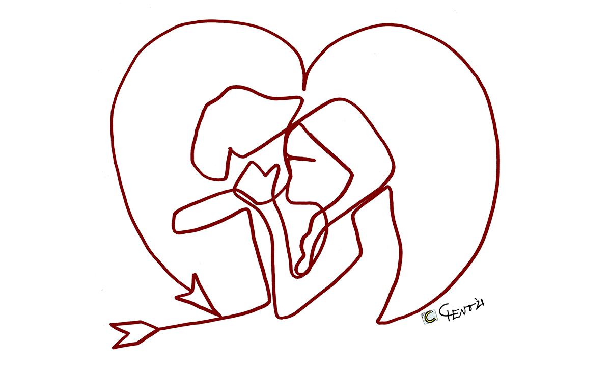 Immagini per messaggi WhatsApp per San Valentino