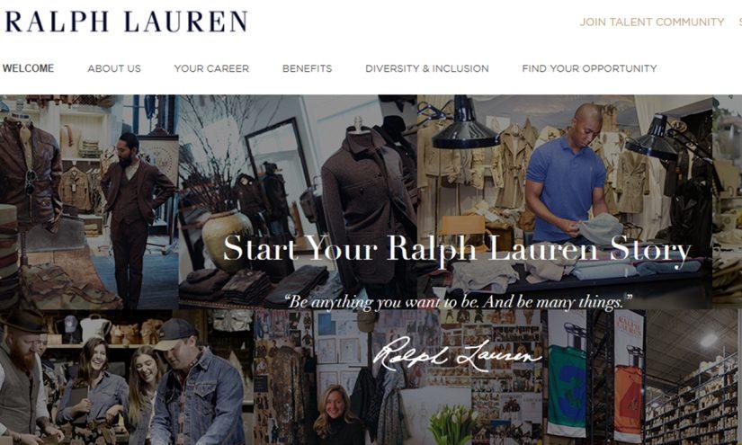 Lavorare per Ralph Lauren