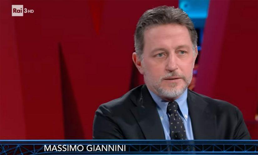 Foto per capire chi è Massimo Giannini