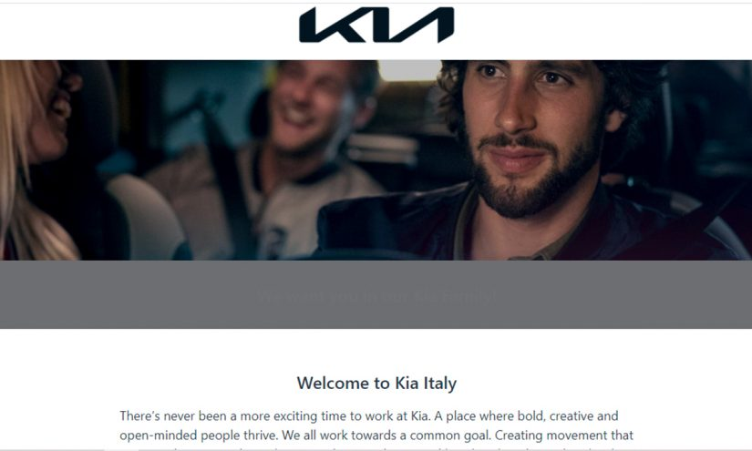 Lavorare in Kia