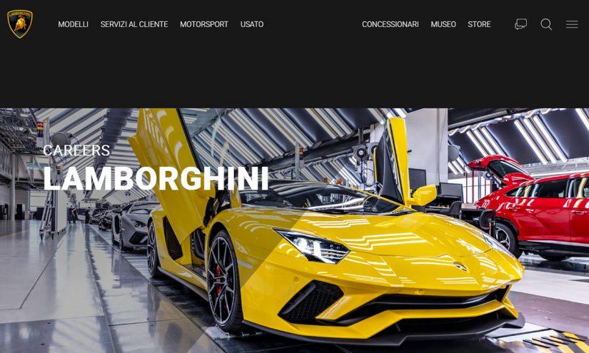 Lavorare in Lamborghini