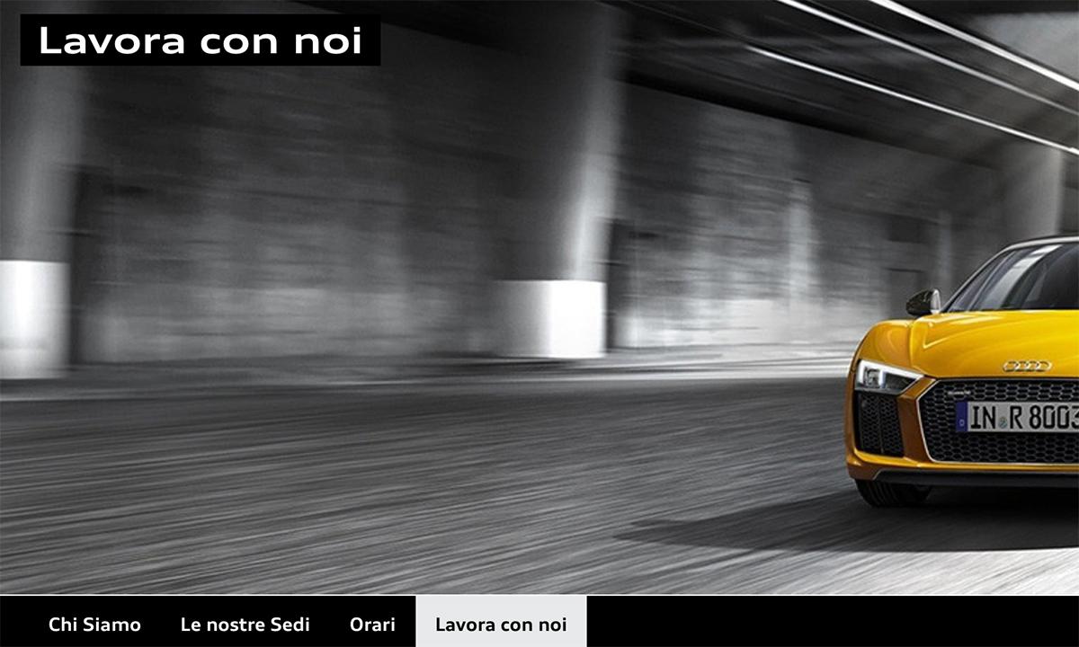 Lavorare con Audi