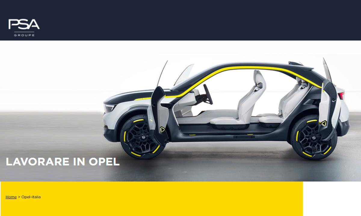 Lavorare in Opel
