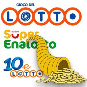 Estrazioni del Lotto - SuperEnalotto - 10eLotto