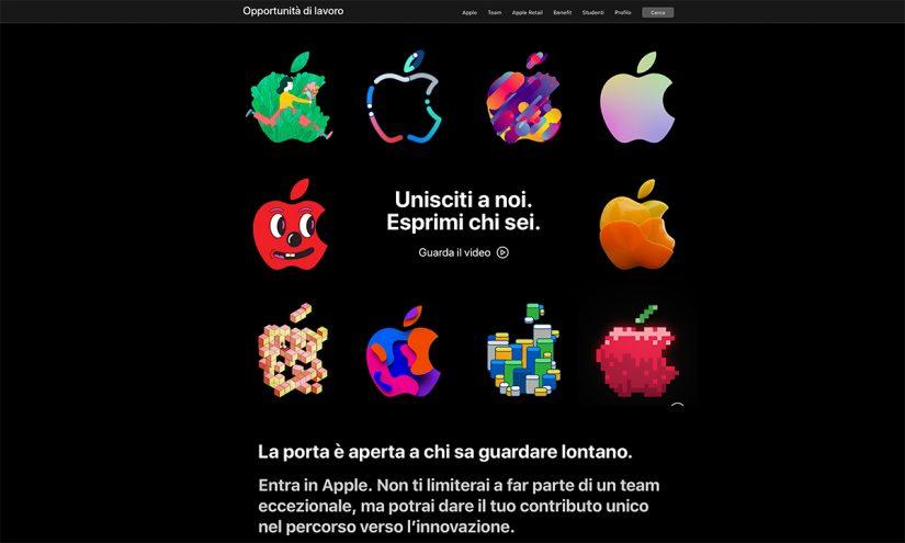Lavorare da Apple