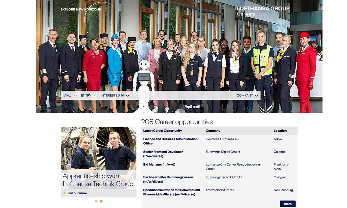 Lavorare in Lufthansa
