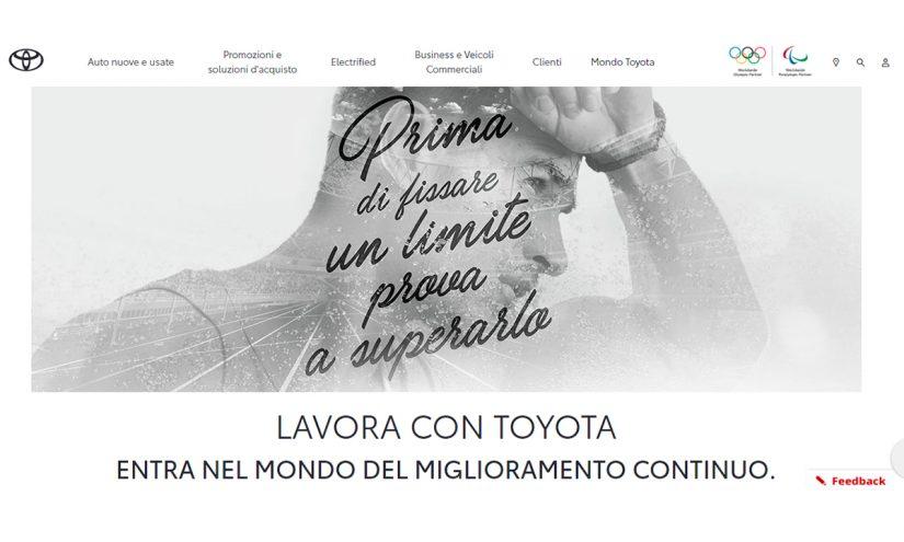 Lavorare in Toyota