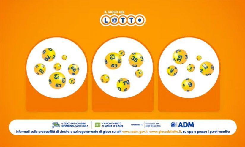 Estrazioni del Lotto del 11 settembre 2021
