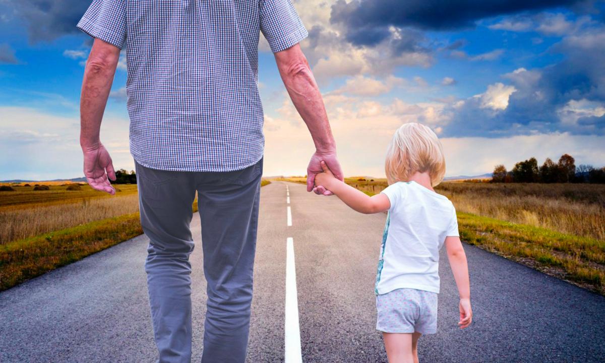 Bambini portati via dai genitori