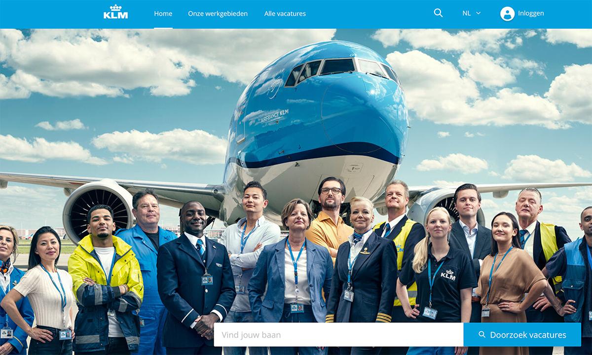 Lavorare in KLM