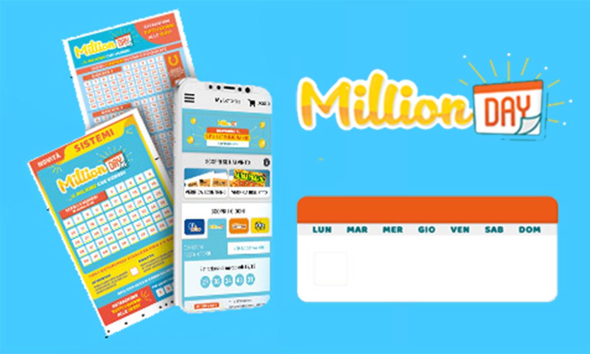 Estrazione MillionDAY oggi 2 gennaio 2022