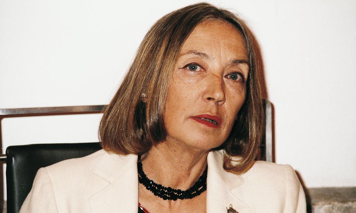 Foto per capire chi era Oriana Fallaci