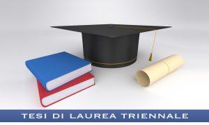 Scrivere una tesi di laurea triennale